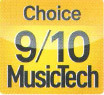 MusicTech Choice 9/10