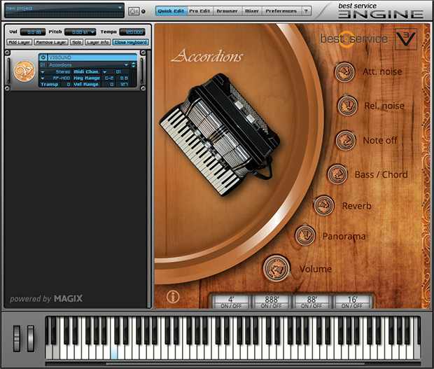 Alpine-Volksmusik-Interface-GUI-Accordions