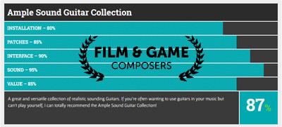 Film & Game Composer Ample Sound reveiw