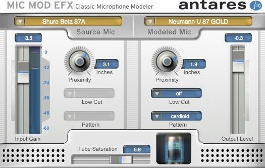 Mic Mod EFX GUI