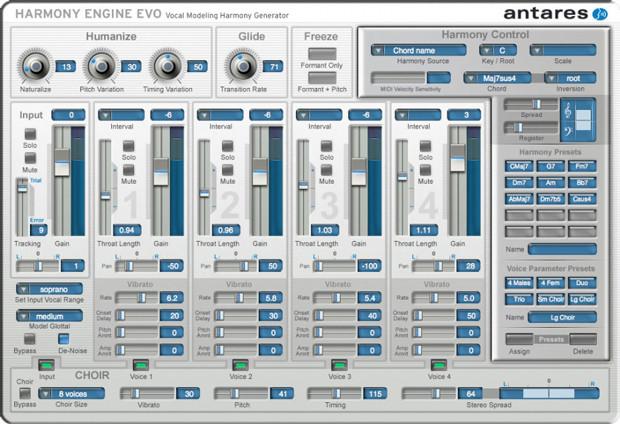 Harmony Engine GUI