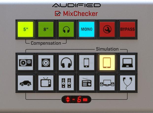 MixChecker GUI Screen