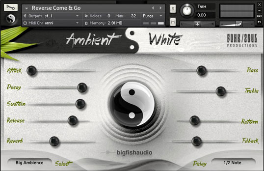 Ambient White GUI