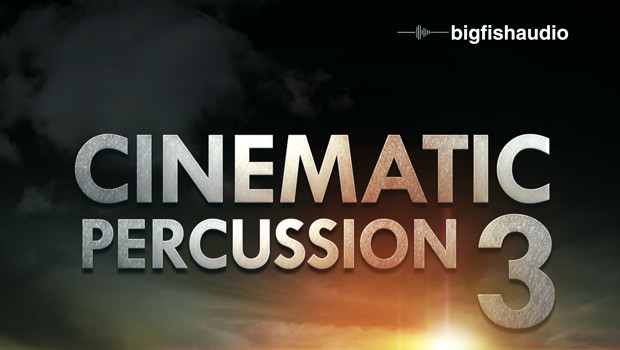 Cinematic Percussion 3 Header