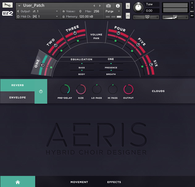 Aeris User Screen