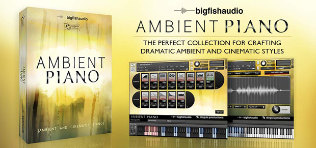 Ambient Piano Header