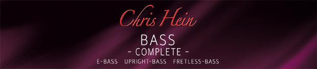 Chris Hein Bass Header