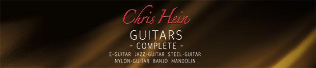 Chris Hein Guitars Header