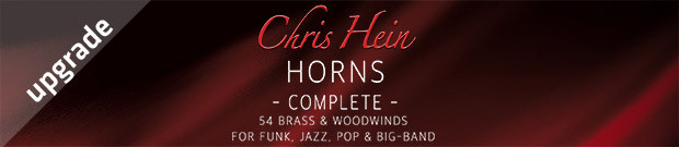 Chris Hein Horns Complete Upgrade
