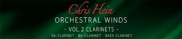 CHW Vol. 2 Clarinets banner