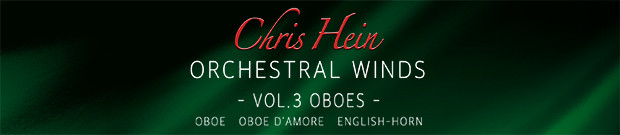 CHW Vol. 3 Oboes banner