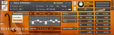 String Essentials Screen