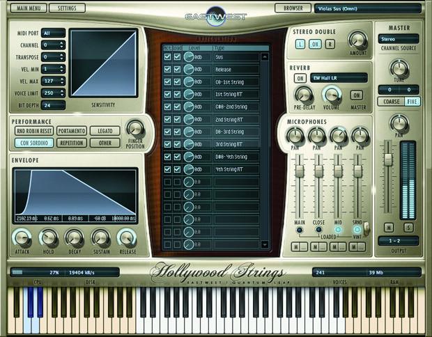 HW Strings Screen