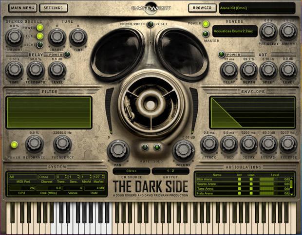 The Dark Side Screen