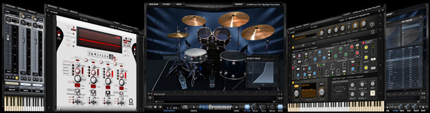 ProDrummer Screens Header