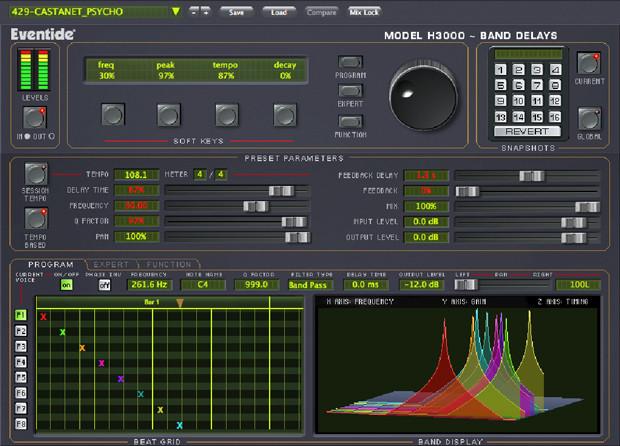 H 3000 Band Delays GUI