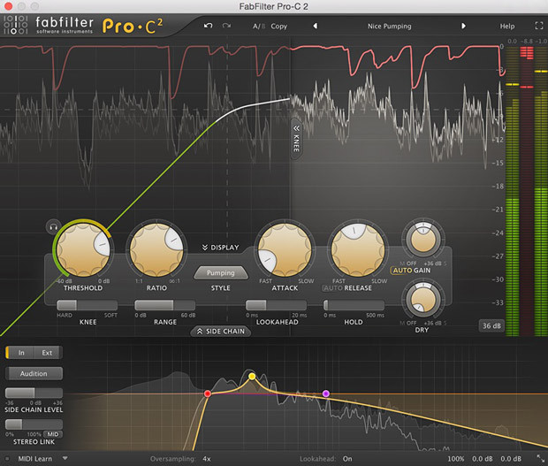 Pro-C 2 GUI Screen