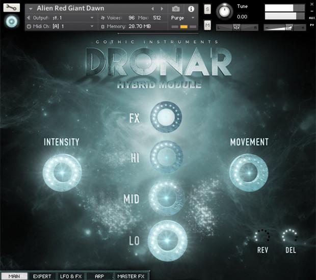 Dronar Hybrid GUI