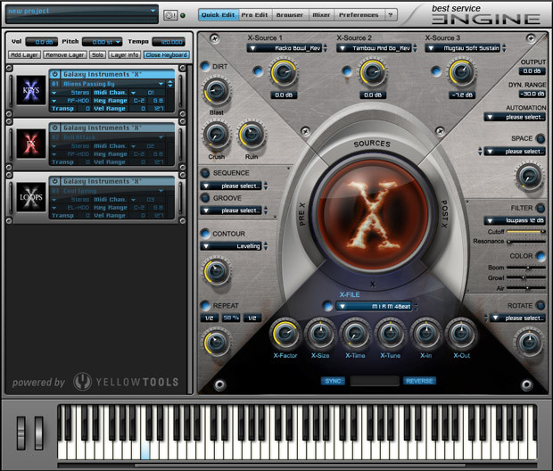 Screen X Keys