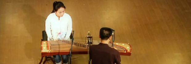 Gu Zheng recording