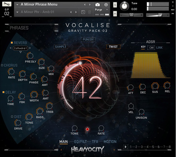 Vocalise Screen