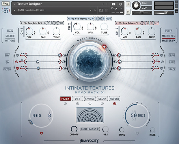Intimate Textures GUI