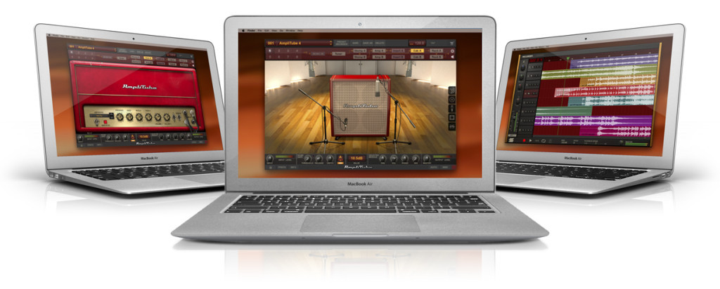 Amplitube Deluxe Screens