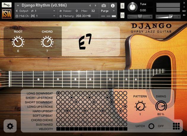 Django Rhythm GUI