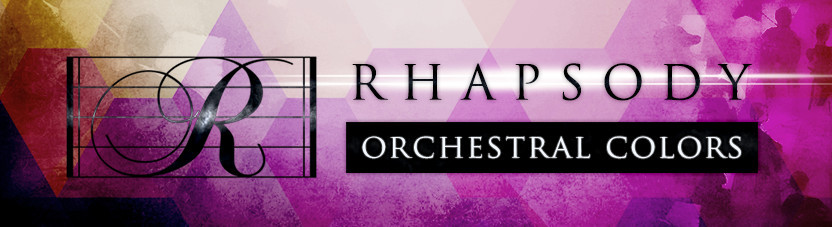 Rhapsody Orchestral Colors Header
