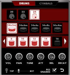 Drums Tweak