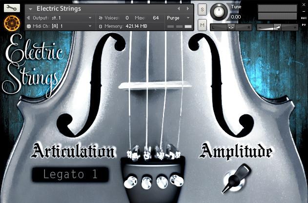 Electric Strings Screenshot