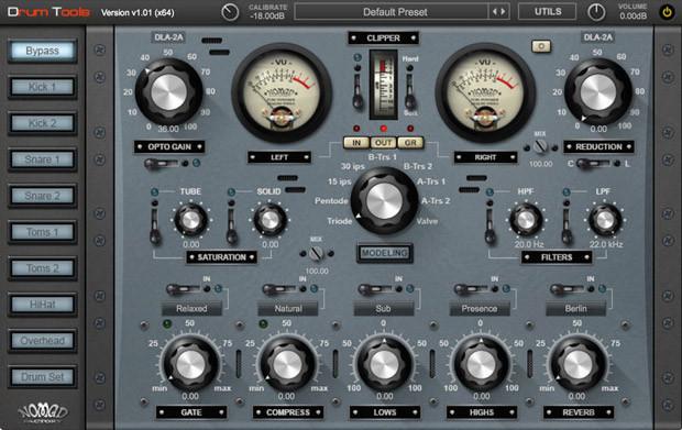 Drum Tools GUI