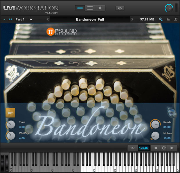 Bandoneon Screen