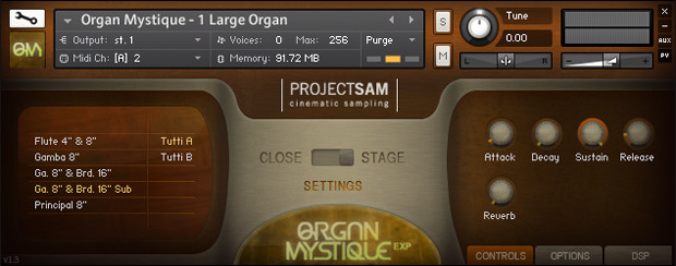 Organ Mystique Screenshot