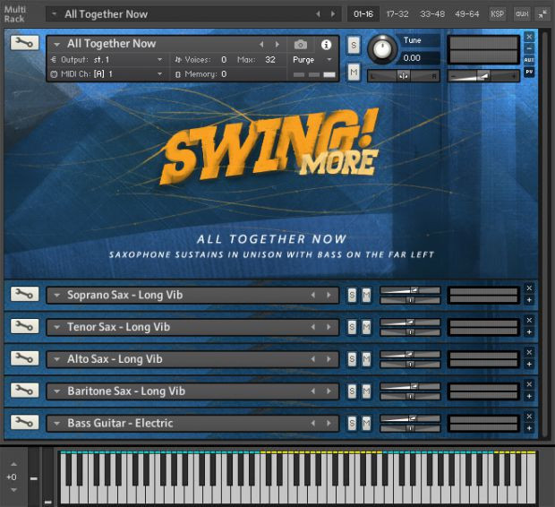 Swing More! Gui2