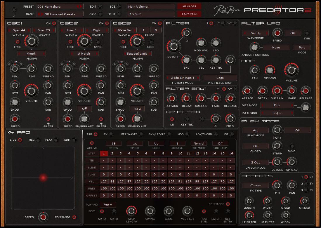 Predator 2 GUI