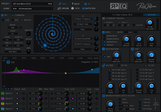 RP EQ Screen