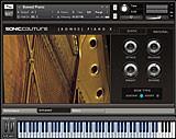 Bowed Piano Screen