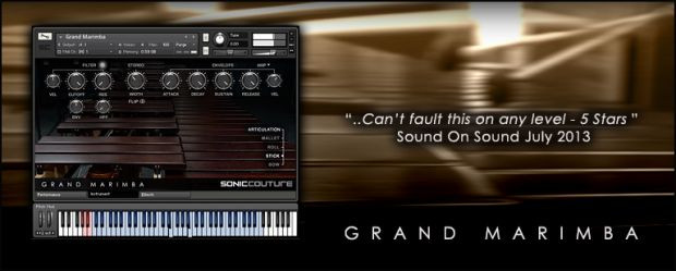 Grand Marimba Header