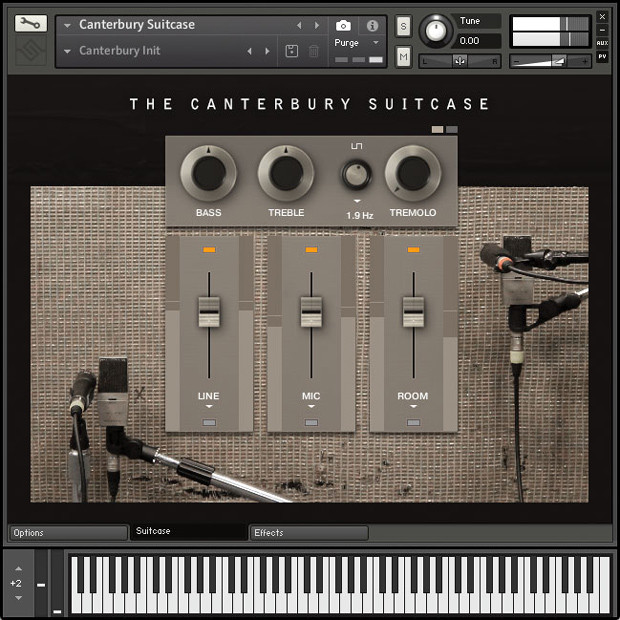 The Canterbury Suitcase GUI