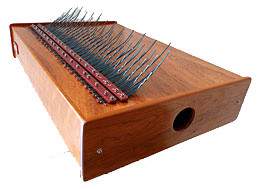 Array Mbira instrument