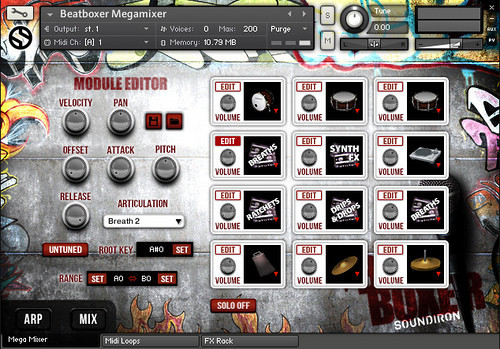 The Beat Boxer Interface