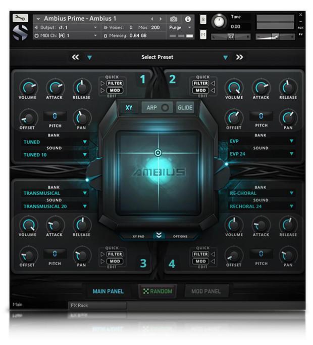 Ambius Prime GUI Screen