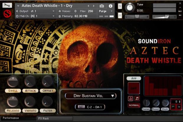 Aztec GUI Screen