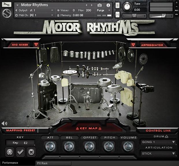 Motor Rhytms Screen