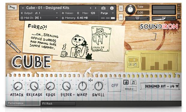 Cube GUI Screen