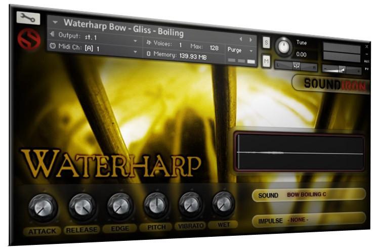 Waterharp 2.0 Screen