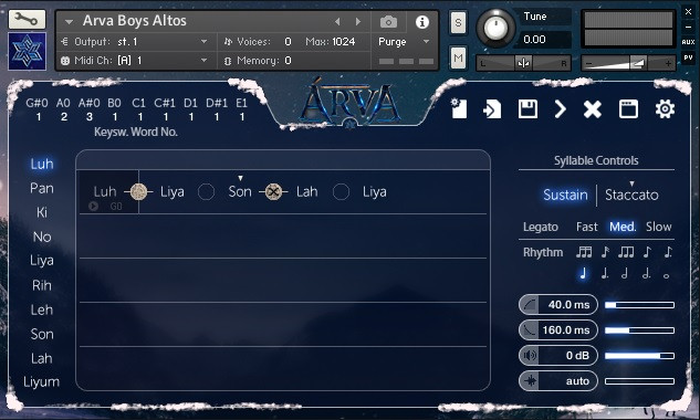 Arva Choir GUI 2