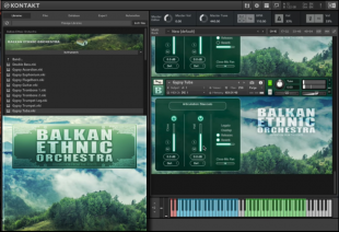 Balkan Ethnic Orchestra GUI
