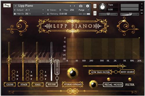 Lipp Piano Screen